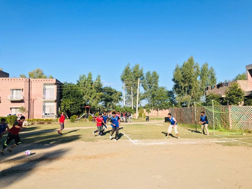 Inter-House Football Competition