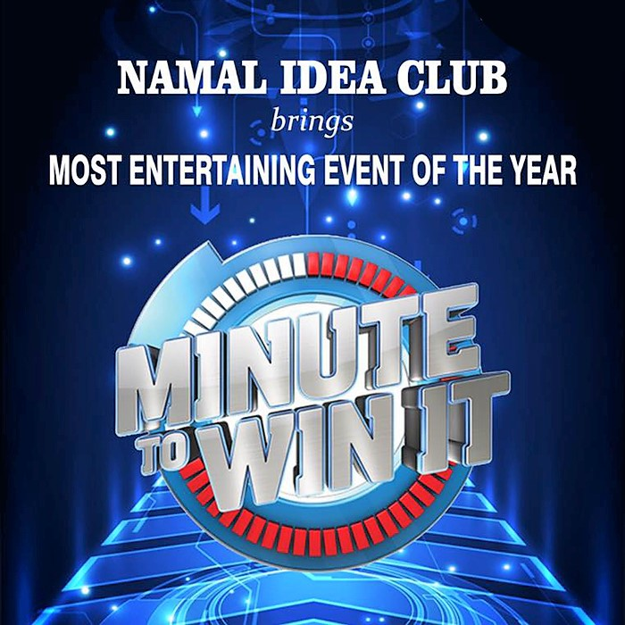 Minute to Win it 6.0 by Namal Idea Club