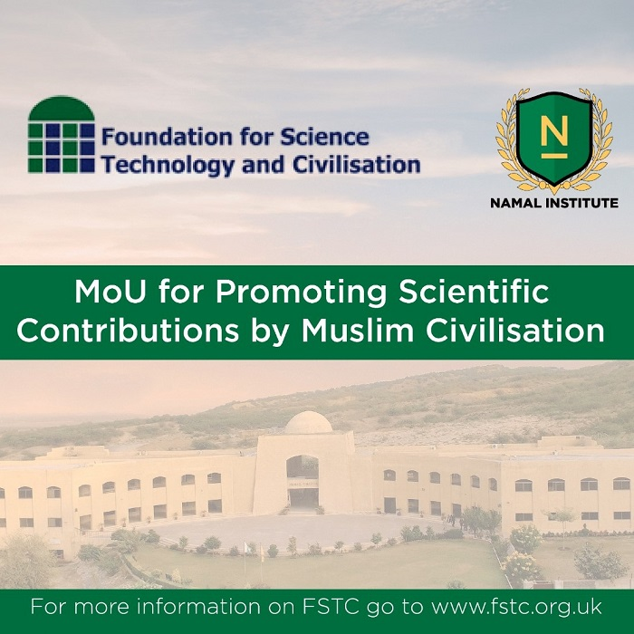 MoU for Promoting Scientific Contributions by Muslim Civilisation