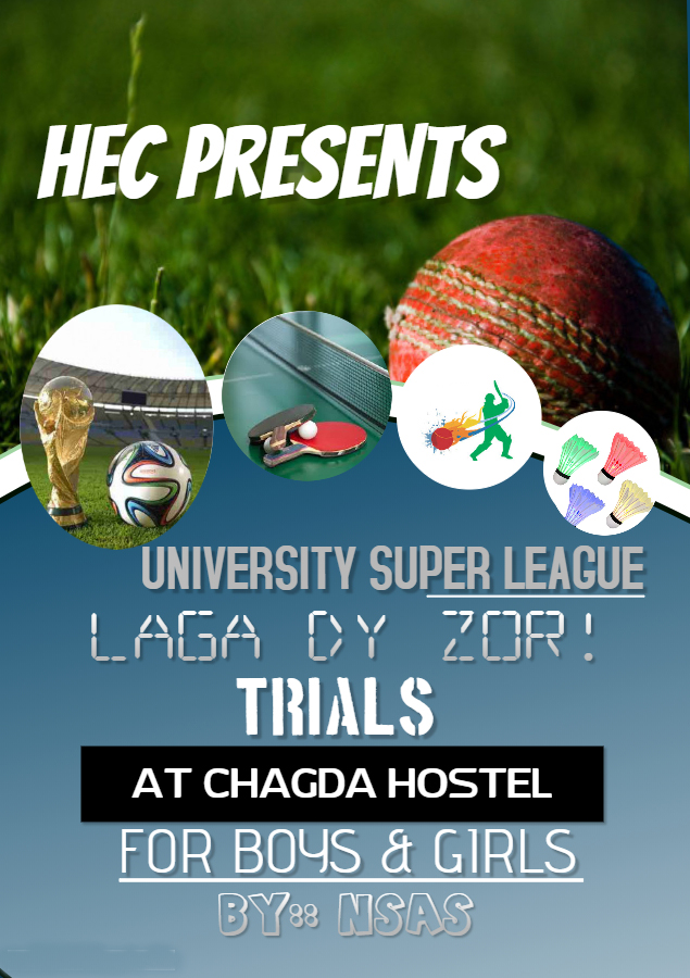 University Sports League Trials